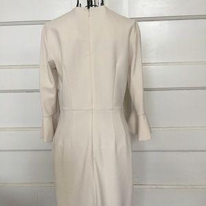 Dona Morgan Dresses - DONA MORGAN CREME BELL SLEEVES DRESS SZ 0 NWT